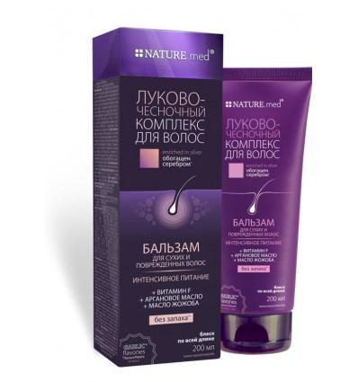 Balsam pentru păr uscat și deteriorat